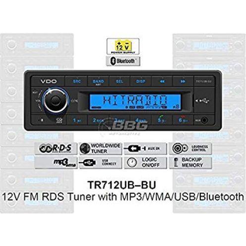 VDO 12V PKW Radio TR712UB-BU