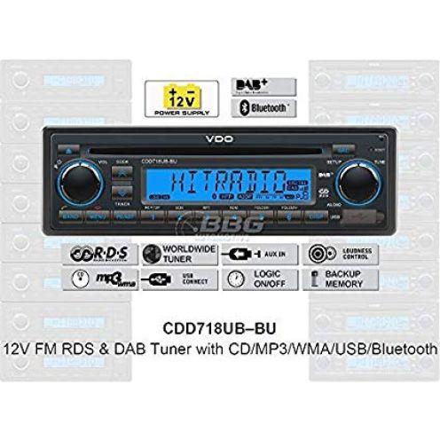 VDO CDD718UB-BU