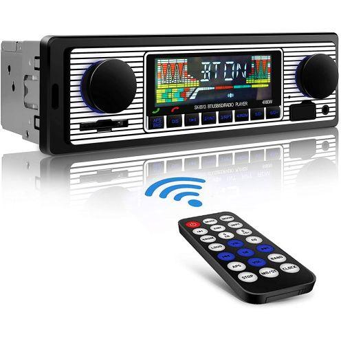 Aigoss Autoradio mit Bluetooth