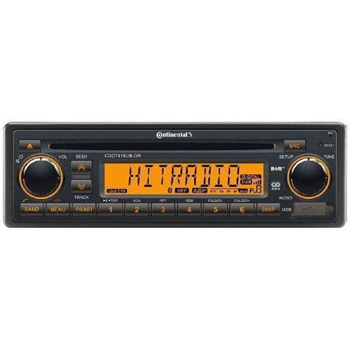 Continental CDD7418UB-OR CD/MP3-Autoradio