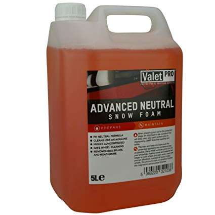 ValetPRO EC19-5L Advanced Neutral Snow Foam Autoshampoo